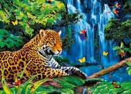 Jaguar Jungle (3D Effect) (CLE 39284), a 1000 piece Clementoni jigsaw puzzle.