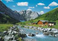 Karwendel Mountains, Germany (RB19216-8), a 1000 piece Ravensburger jigsaw puzzle.