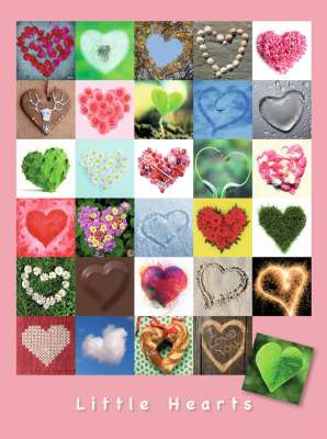Little Hearts (RB16294-9), a 1500 piece jigsaw puzzle by Ravensburger. Click to view larger image.