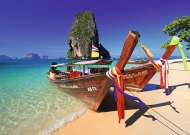 Railay Beach, Thailand (RB19477-3), a 1000 piece Ravensburger jigsaw puzzle.