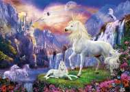 Unicorn Evening (Glow in the Dark) (CLE 39285), a 1000 piece jigsaw puzzle by Clementoni. Click to view this jigsaw puzzle.