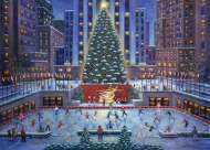 NYC Christmas (RB19563-3), a 1000 piece Ravensburger jigsaw puzzle.