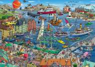 Seaport (HEY29729), a 1000 piece HEYE jigsaw puzzle.