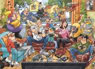 Basics (Wasgij Back To...? #1) (HOL97111), a 1000 piece jigsaw puzzle by Holdson and artist Neil Easton. Click to view this jigsaw puzzle.