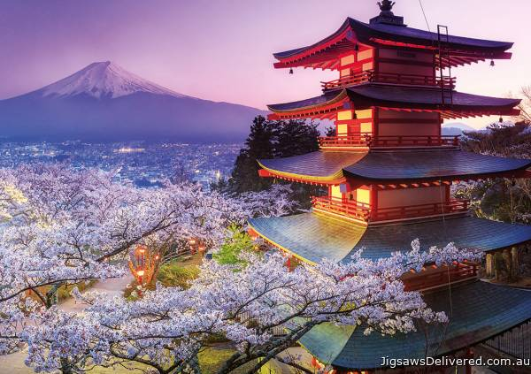 Mount Fuji, Japan (EDU16775), a 2000 piece jigsaw puzzle by Educa.