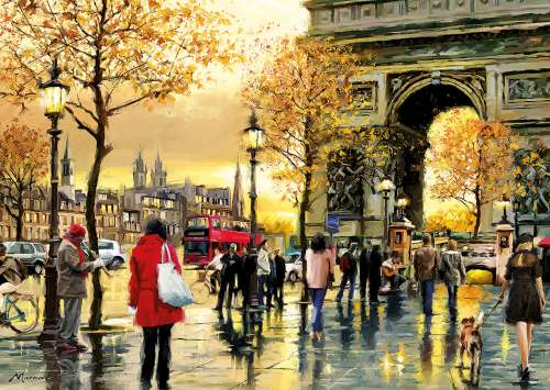 Arc de Triomphe, Paris (EDU16778), a 2000 piece jigsaw puzzle by Educa. Click to view larger image.