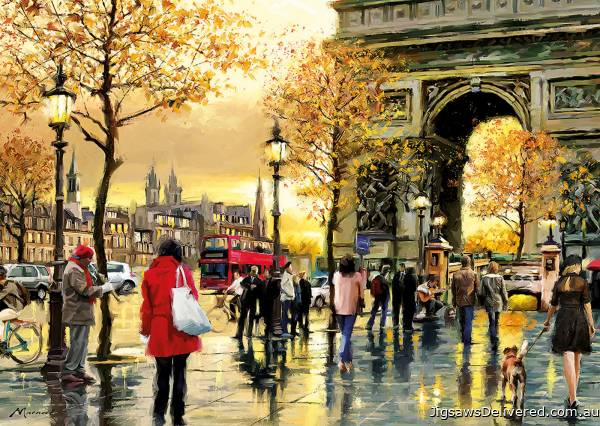 Arc de Triomphe, Paris (EDU16778), a 2000 piece jigsaw puzzle by Educa.