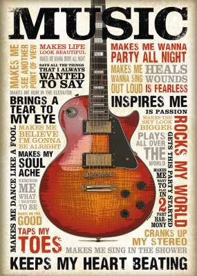 Passion for Music (RB19615-9), a 1000 piece jigsaw puzzle by Ravensburger. Click to view larger image.