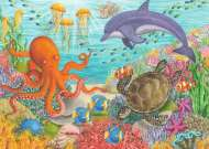 Ocean Friends (RB08780-8), a 35 piece Ravensburger jigsaw puzzle.