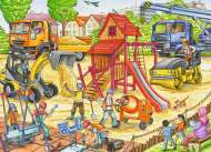 Building a Playground (RB09623-7), a 60 piece Ravensburger jigsaw puzzle.