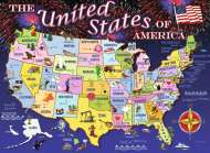 USA Map (RB10661-5), a 100 piece Ravensburger jigsaw puzzle.