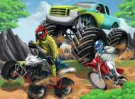 Off Road Vehicles (RB12821-1), a 200 piece Ravensburger jigsaw puzzle.