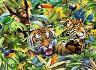 Wild Animals (RB13201-0), a 300 piece Ravensburger jigsaw puzzle.