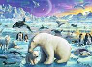 Meet the Polar Animals (RB13203-4), a 300 piece Ravensburger jigsaw puzzle.