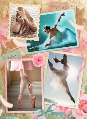 Prima Ballerina (RB14647-5), a 500 piece jigsaw puzzle by Ravensburger. Click to view larger image.