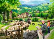 Lake District - A Good Team (RB14688-8), a 500 piece Ravensburger jigsaw puzzle.