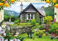 Lakeland Cottage (RB19246-5), a 1000 piece Ravensburger jigsaw puzzle.