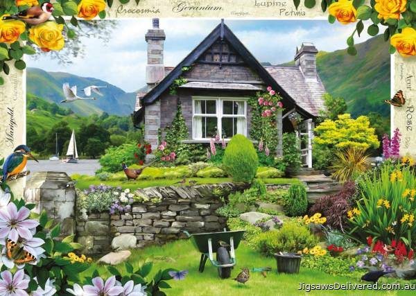 Lakeland Cottage (RB19246-5), a 1000 piece jigsaw puzzle by Ravensburger.