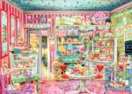The Candy Shop (RB19599-2), a 1000 piece Ravensburger jigsaw puzzle.