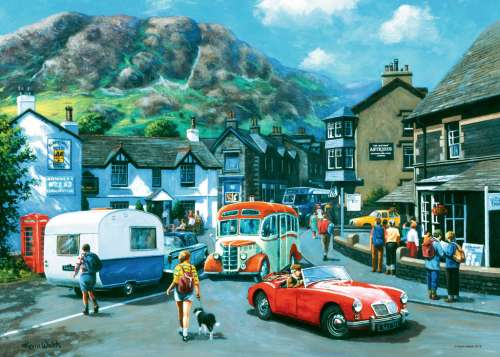 Happy Days, Lake District (RB19584-8), a 1000 piece jigsaw puzzle by Ravensburger. Click to view larger image.