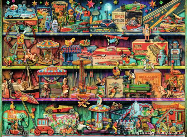 Toy Wonderama (RB14714-4), a 500 piece jigsaw puzzle by Ravensburger.