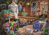 The Attic (Large Pieces) (RB14869-1), a 500 piece Ravensburger jigsaw puzzle.