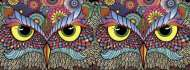 Owl-Rageous (Oodles of Doodles) (HOL097814), a 748 piece Holdson jigsaw puzzle.
