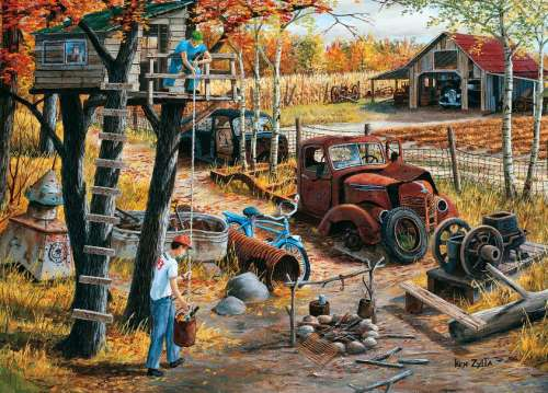 Base Camp (Spoke Wheel Junction) (HOL097203), a 1000 piece jigsaw puzzle by Holdson. Click to view larger image.