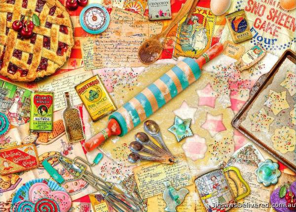 Baker (Treats & Treasures) (HOL097166), a 1000 piece jigsaw puzzle by Holdson.