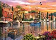 Harbour (Sunsets) (HOL097258), a 1000 piece Holdson jigsaw puzzle.