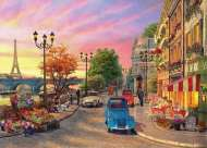 The Seine in Paris (Sunsets) (HOL097241), a 1000 piece Holdson jigsaw puzzle.
