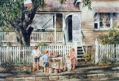 The Toy Sellers (BL01949), a 1000 piece jigsaw puzzle by Blue Opal. Click to view larger image.
