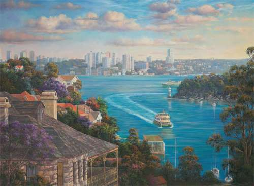 Sydney Harbour (BL01919), a 1000 piece jigsaw puzzle by Blue Opal. Click to view larger image.