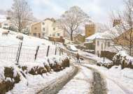 Newchurch-in-Pendle (JUM11108), a 1000 piece Jumbo jigsaw puzzle.