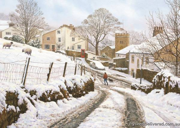 Newchurch-in-Pendle (JUM11108), a 1000 piece jigsaw puzzle by Jumbo.