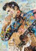 Elvis Presley (HOL097494), a 1000 piece Holdson jigsaw puzzle.