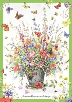 Summer Bouquet (JUM18349), a 500 piece jigsaw puzzle by Jumbo. Click to view larger image.