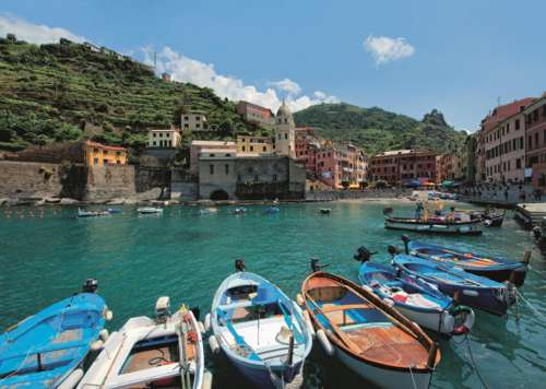 Cinque Terre (JUM18353), a 1000 piece jigsaw puzzle by Jumbo. Click to view larger image.