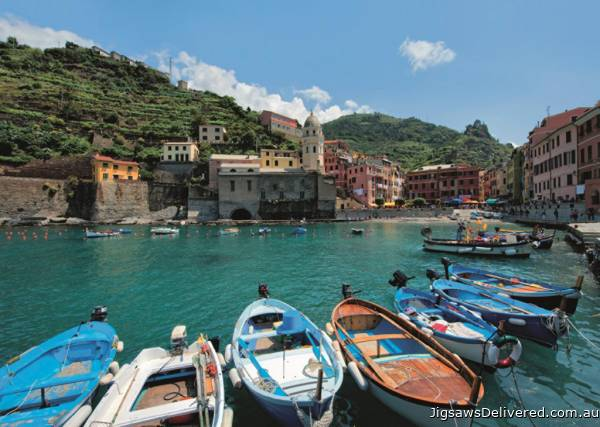 Cinque Terre (JUM18353), a 1000 piece jigsaw puzzle by Jumbo.