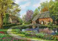 Meadow Cottage (HOL097449), a 1000 piece Holdson jigsaw puzzle.