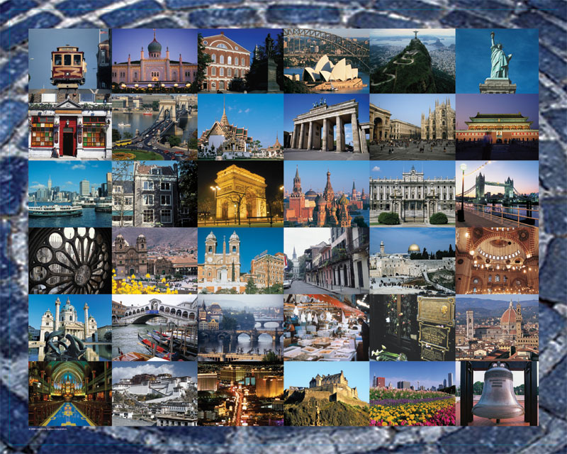 Cities 1000 Places To See Before You Die Jigsaw By