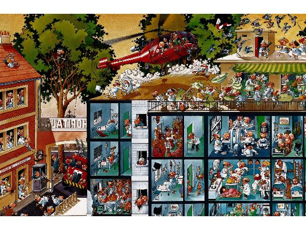 Emergency Room Jigsaw By Jean Jacques Loup 25784 2000
