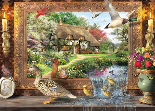 Ducks Crossing Jigsaw By Art To Life Hol096268 1000 Pcs