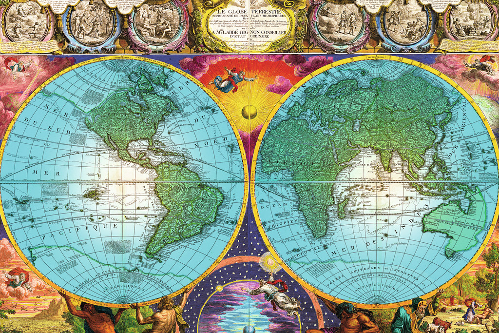Maps puzzles at jigsaws delivered australias largest range of antique map rb17074 6 a 3000 piece ravensburger jigsaw puzzle sciox Choice Image
