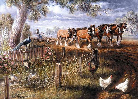 Ploughing The Land Jigsaw By Almar Zaadstra Caa014636
