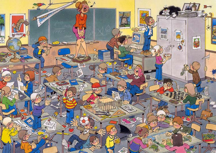 Find The Mouse Jigsaw By Jan Van Haasteren 17280 500