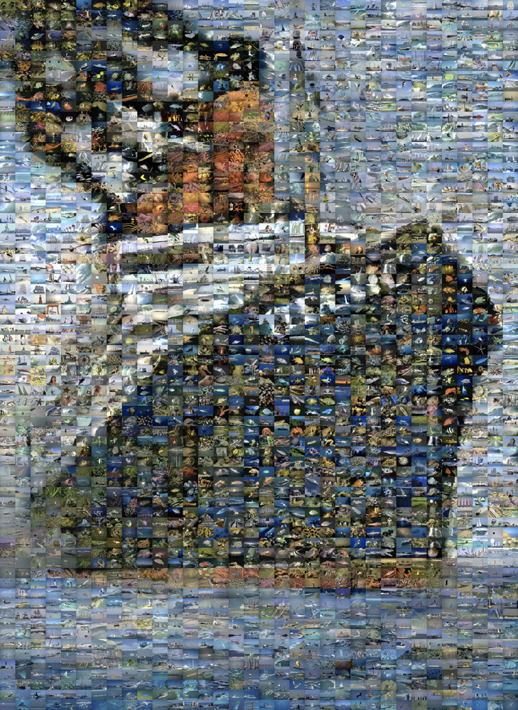 Titanic Photomosaic Jigsaw By Blue Opal Blu1100017