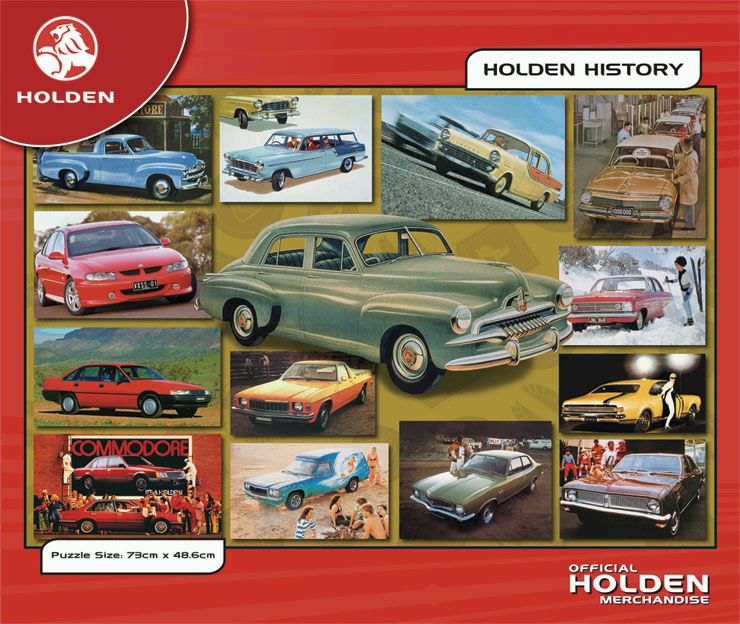 Holden History Series 1 Jigsaw By Blue Opal Bl00302