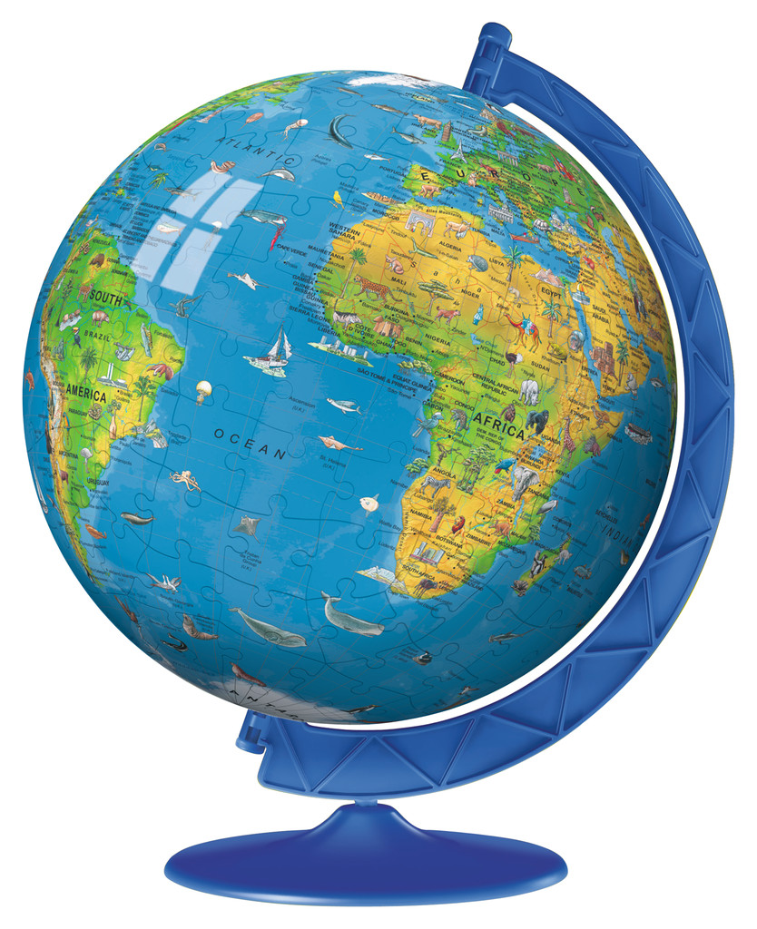Children S Globe 180pc Puzzleball Jigsaw By Ravensburger