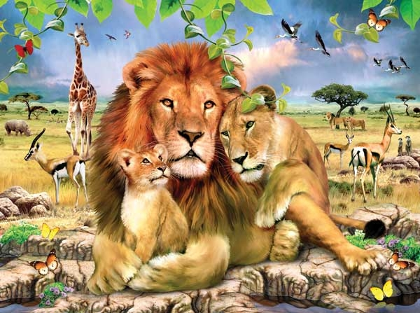 Lion S Pride Jigsaw By Howard Robinson Sun59307 1000 Pcs